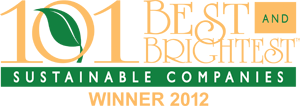 101 Best and Brightest Sustainability Companies Winner 2012